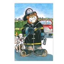 Firefighter, Male - Postcards (Package of 8)