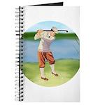 Vintage golfer Journal