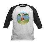 Vintage golfer Kids Baseball Jersey