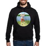 Vintage golfer Hoodie (dark)