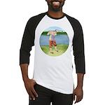 Vintage golfer Baseball Jersey