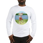 Vintage golfer Long Sleeve T-Shirt