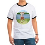 Vintage golfer Ringer T