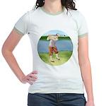 Vintage golfer Jr. Ringer T-Shirt