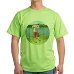Vintage golfer Green T-Shirt