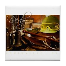 Jockey Gear Tile Coaster