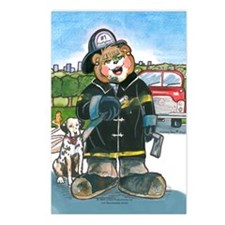 Firefighter, Female - Postcards (Package of 8)