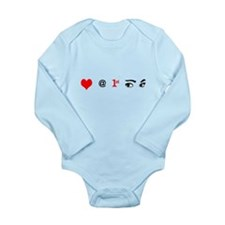 Love at First Sight Long Sleeve Onesie