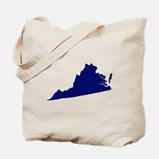 Virginia - Blue Tote Bag