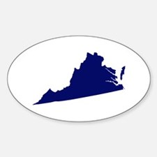 Virginia - Blue Decal