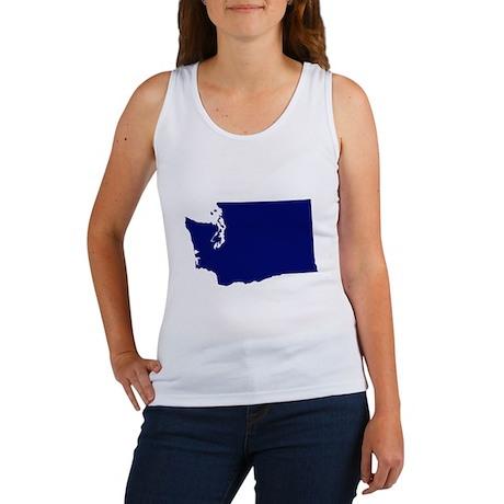 Washington - Blue Women's Tank Top