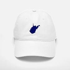 West Virginia - Blue Baseball Baseball Cap