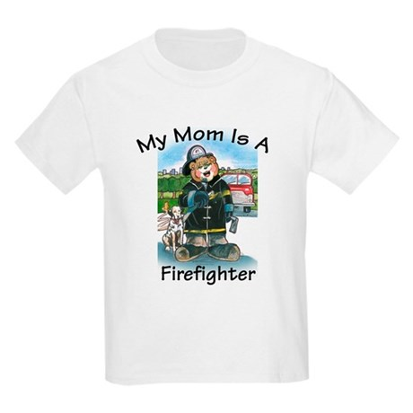 Firefighter, Mom - Kids T-Shirt