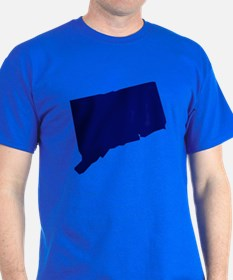 Connecticut - Blue T-Shirt