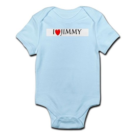 I Love Jimmy Infant Creeper