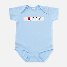 I Love Jimmy Infant Creeper
