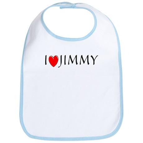 I Love Jimmy Bib