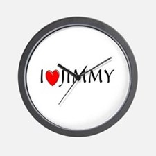 I Love Jimmy Wall Clock