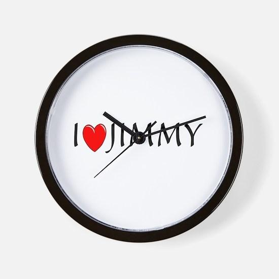 I Love Jimmy Wall Clock