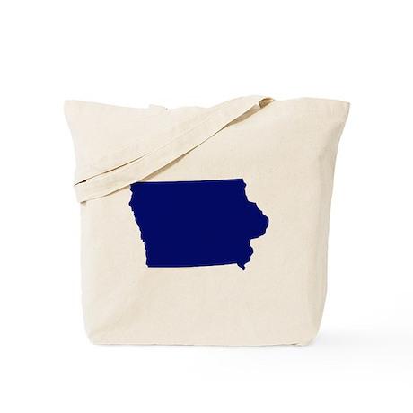 Iowa - Blue Tote Bag