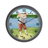 Golf Wall Clocks