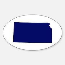 Kansas - Blue Decal