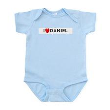 I Love Daniel Infant Creeper