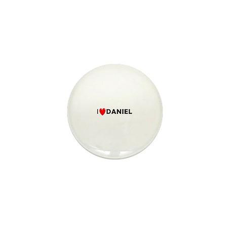 I Love Daniel Mini Button