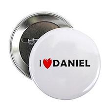 I Love Daniel Button