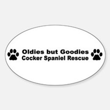 Oldies But Goodies Oval Decal