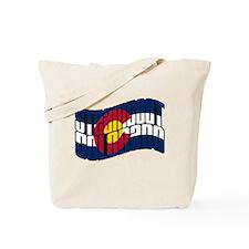 Steamboat Colorado Flag Tote Bag