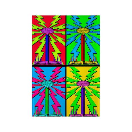 TESLADELIC #69 Rectangle Magnet (10 pack)