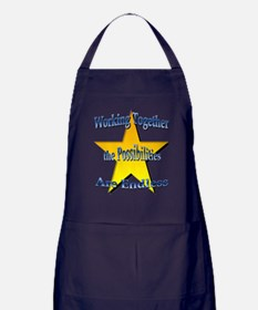 Possibilities Are Endless Apron (dark)