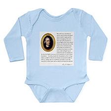 Samuel Adams Long Sleeve Infant Bodysuit