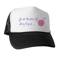 Just Resting My Eyes Trucker Hat