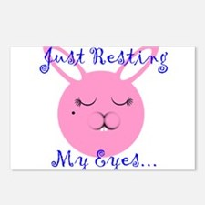 Just Resting My Eyes Postcards (Package of 8)