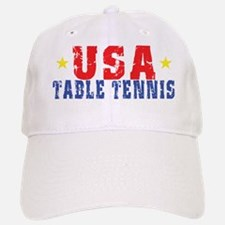 USA Table Tennis Baseball Baseball Cap