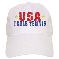 USA Table Tennis Baseball Cap
