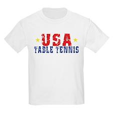 USA Table Tennis Kids T-Shirt