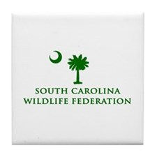 SCWF Palmetto Tile Coaster