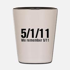 We Remember 9/11 Shot Glass
