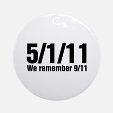 We Remember 9/11 Ornament (Round)