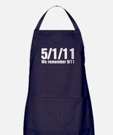 We Remember 9/11 Apron (dark)