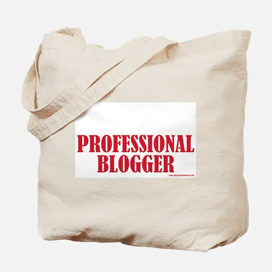 Professional Blogger Tote Bag