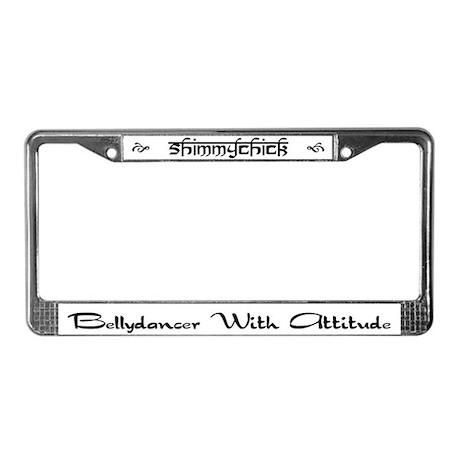 Attitude License Plate Frame