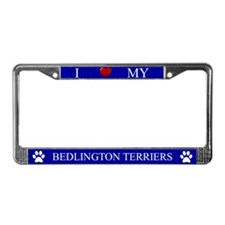 Blue I Love My Bedlington Terriers Frame