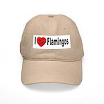 I Love Flamingos Cap