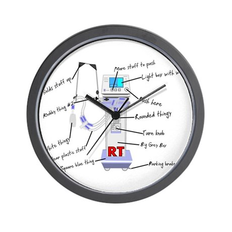 Respiratory Therapists XX Wall Clock