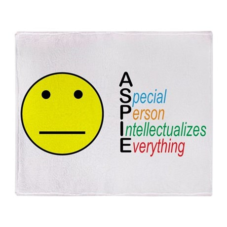 Autistic Spectrum Throw Blanket