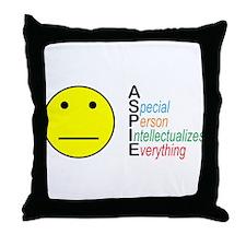 ASpie Acronym Throw Pillow